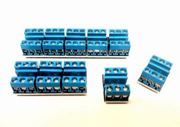 RKcon1 (Pack of 10) Wiring Module for Model Railway - Self Build Kit